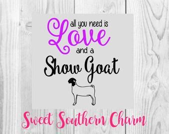 SVG File - Goat SVG File - Show Goat File - svg files - Cutting files - Cut files - Goat files