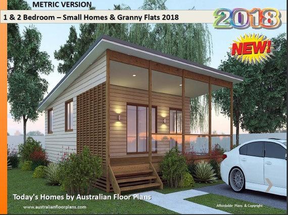 Tiny Home Designs Australia: Small Houses & Granny Flats Home Design Book Australian And
