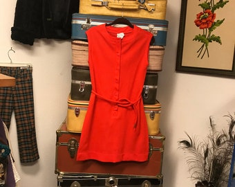 Vintage Bodin Knits short red dress