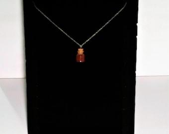 Luck ToGo Potion Bottle Necklace