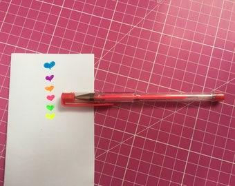 Neon gel pen pink 1.00 mm