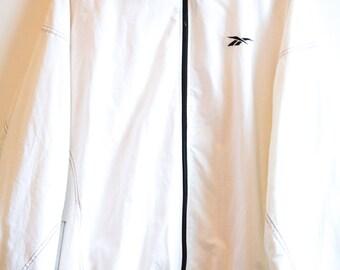 Vintage Reebok white Jacket size XL