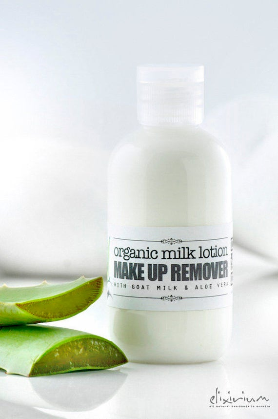 MAKE UP REMOVER • Organic Milk Lotion with Aloe Vera, Goat Milk & many more benefitial essential oils and extracts.