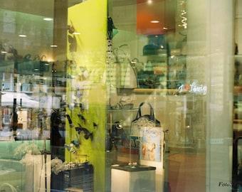 Shop Window, Fine Art Photography, Shopwindow, Double Exposure, Download