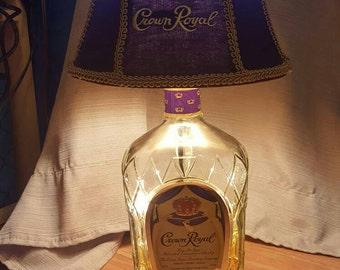 Half gallon Crown Royal Lamp