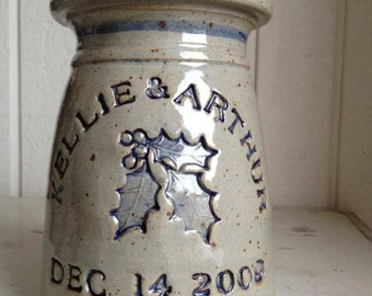 Personalized Wedding and Anniversary Pottery Gifts
