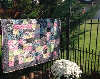 Handmade Crib or Lap Quilt
