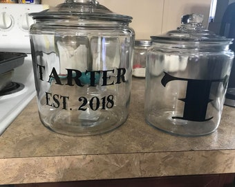 Personalized Cookie Jars