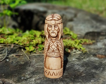 Small Handcrafted Figurine of Dellingr