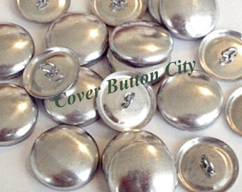 200 Cover Buttons Size 45 (1 1/8 inch) -  Wire Backs