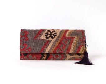 Kilim purse,purse, carpetbag,woman kilim bag, Turkish kilim bag, Handmade old Turkish kilim bag, Handmade kilim bag,Handmade carpet bag, bag