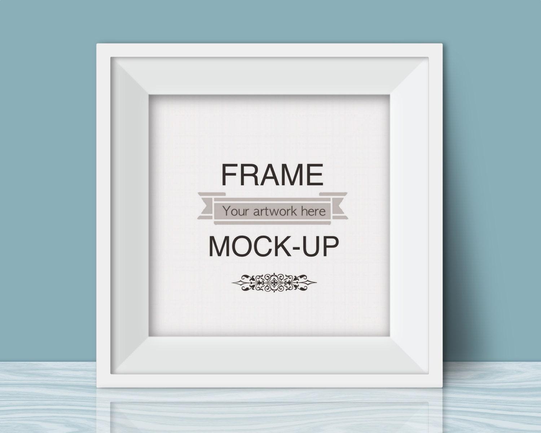 Atemberaubend Fotorahmen Mockup Psd Galerie - Benutzerdefinierte ...
