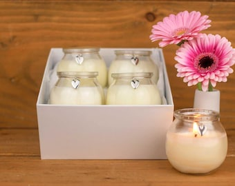 Scented soy candles gift set - relaxing