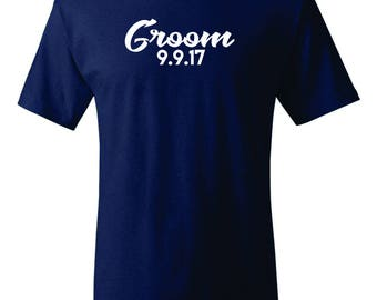 Gentleman Groom, Gentleman,  Groom T-shirt, Groom Tshirt, Groom Gift, Groom Gift, Wedding Party Shirts, Bachelor Party Shirts, Mens Clothing