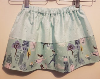 "Mint Green ""Neverland"" Skirt - Age 2-3"