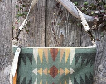 Juniper & Sage Leather Crossbody Bag