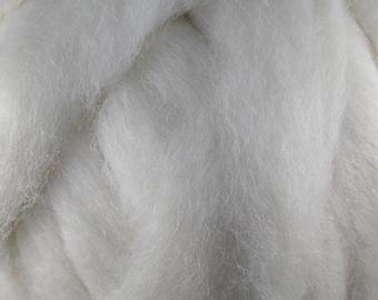 Wool Roving - 1oz - Natural White