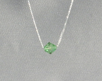 August Birthstone- Peridot Necklace