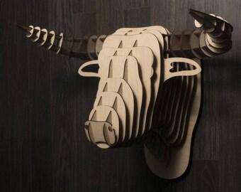 Bull head - Digital files