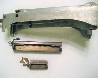 Conveyor Belt /Farm Hit & Miss Repair Vintage 1930s Conveyor Belt Cutter, Lacers