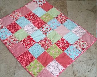 Pretty flannel quilt