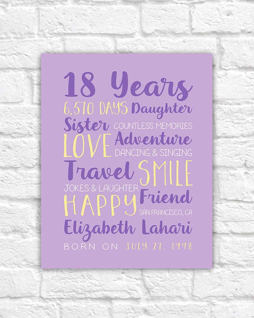 18th Birthday Present Ideas For Daughter Satu Sticker
