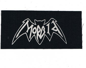 Morbid Band Logo Patch Black Metal Thrash Metal Death Metal Crust Punk D Beat Grindcore Hardcore patches