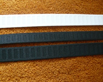 3/4'', 1'' Wide Non-Roll Elastic for waistbands, 1 yard