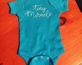 Tiny Miracle Onesie