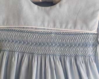 Blue Smocked Sailor Bubble