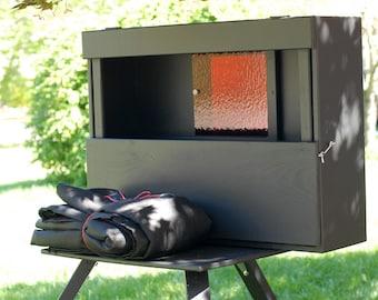 Custom WetPlate Collodion Portable Darkbox / Darkroom