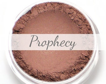 """Eyeshadow Sample - """"Prophecy"""" - rich burgundy plum with copper shimmer (Vegan) Mineral Makeup Eye Color Pigment"""
