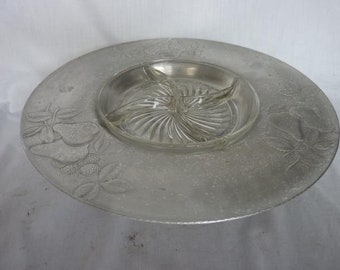 Vintage EVERLAST FORGED ALUMINUM Lazy Susan Serving Tray