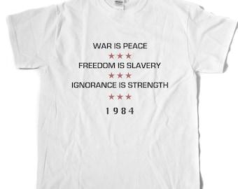 1984 INGSOC Motto T-Shirt