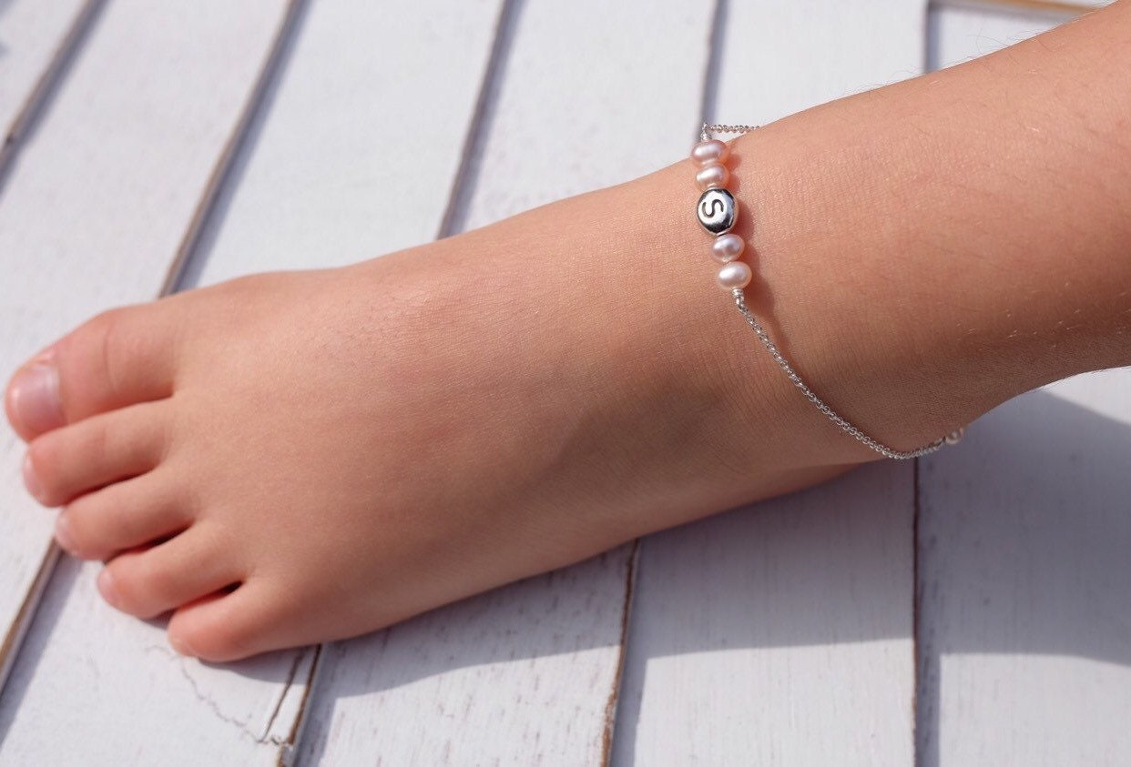 toddler baby anklets bracelet fullxfull anklet silver il sterling babytoddler adjustable p jewelry ankle