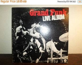 Vintage 1970 LP Record Grand Funk Live Album 2 LP Set Excellent Condition 10052