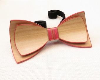 Beautiful Wood Bow Tie 0052