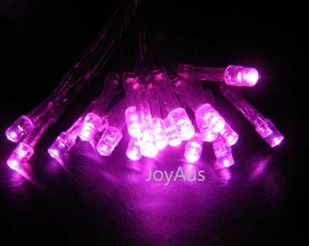 5m Pink Battery Operated Fairy Lights Led String Lights Wedding Engagement Event Birthday Party Reception Ceremony Home Decoration