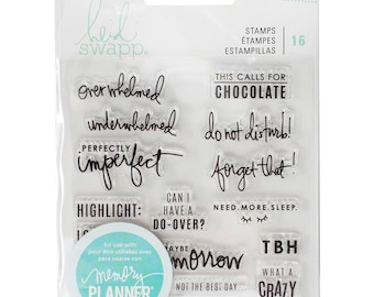Heidi Swapp - Memory Planner 2017 Clear Stamps Day