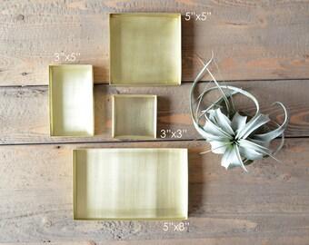 Brass Jewelry Trays / Storage Trays