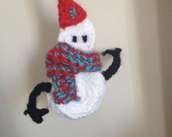 Christmas snowman decoration.