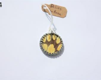 Delias battana Butterfly Necklace