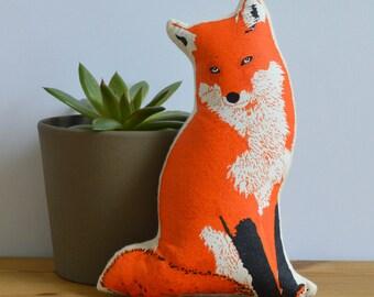 Silkscreen Fox Toy