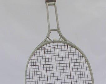 Fascinating 1920s aluminium tennis racquet