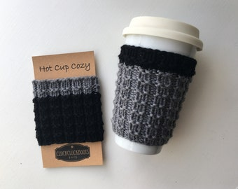 Cass Coffee Cup Sleeve / Cozy