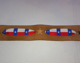Texas Lone star bracelet