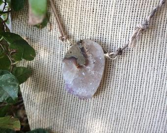 Amethyst slice talisman