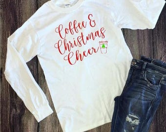 Coffee & Christmas Cheer T-Shirt