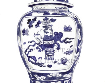 GINGER JAR No. 2 print