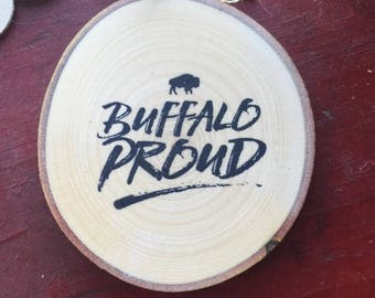 Buffalo Proud Ornament